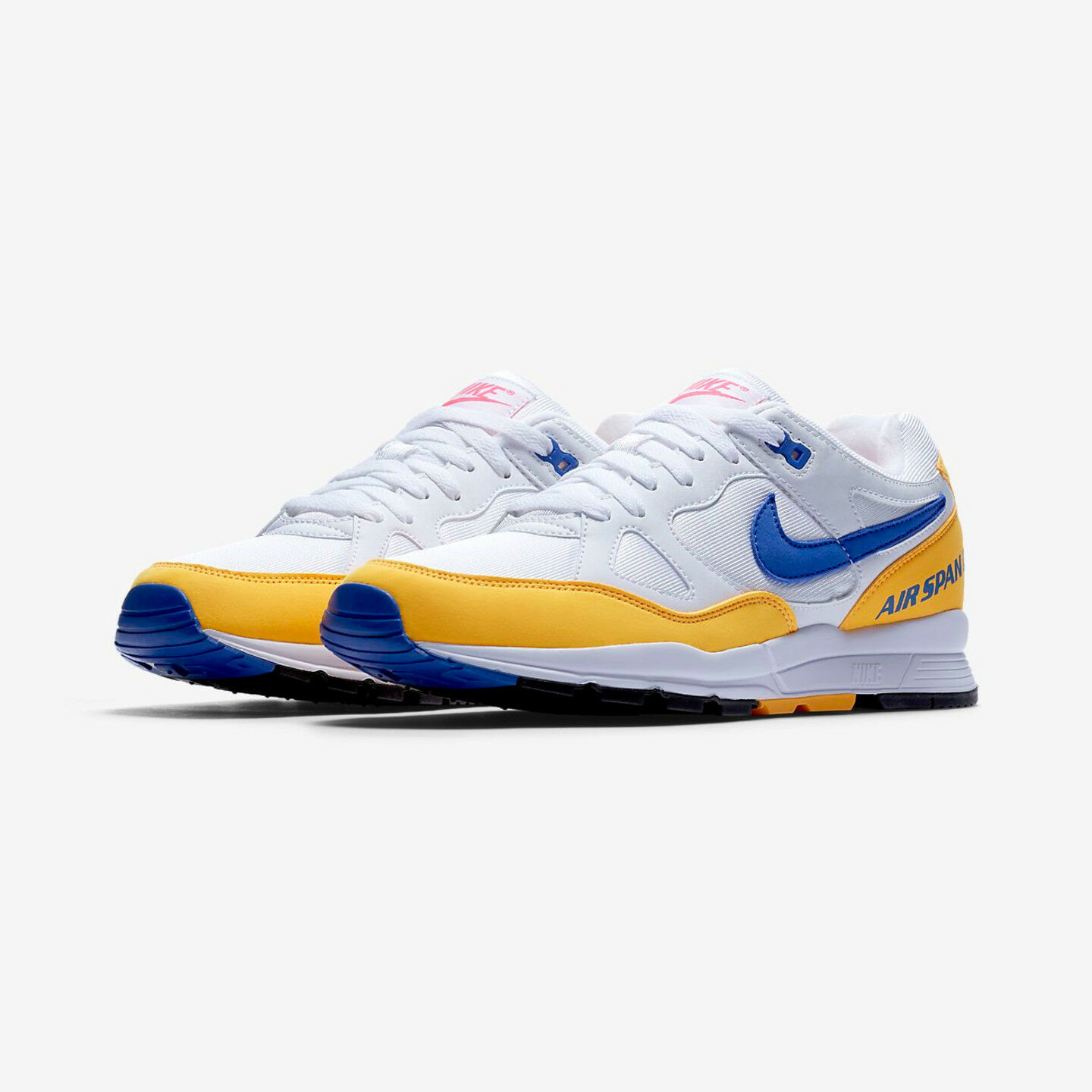 TOP NIKE AIR SPAN II 43 - 44,5  Weiß HYPER ROYAL  AH8047 103 NEWAUSVERKAUFT