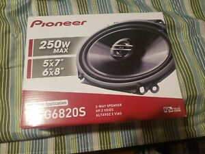 Pioneer-TS-G6820S-250-Watt-6-034-x-8-Car-Audio-Speaker-6x8-034-5