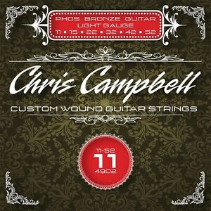 3-SETS-CHRIS-CAMPBELL-CUSTOM-ACOUSTIC-GUITAR-STRINGS-4902-PHOS-BRONZE-LIGHT