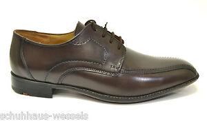 8d930818404aeb Das Bild wird geladen Lloyd-Gamon-braun-Herrenschuhe -Schnuerschuhe-Anzug-Schuhe-testa-