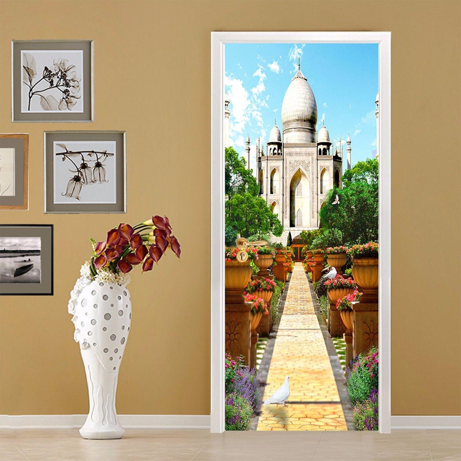 3D Schloss 710 Tür Wandmalerei Wandaufkleber Aufkleber AJ WALLPAPER DE Kyra