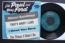 EP Les Paul & Mary Ford - Mister Sandman - US Capitol