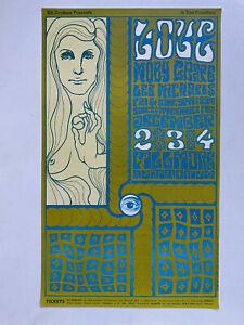 LOVE-Wes-Wilson-BILL-GRAHAM-FILLMORE-POSTER-BG-40-1966-2nd-printing