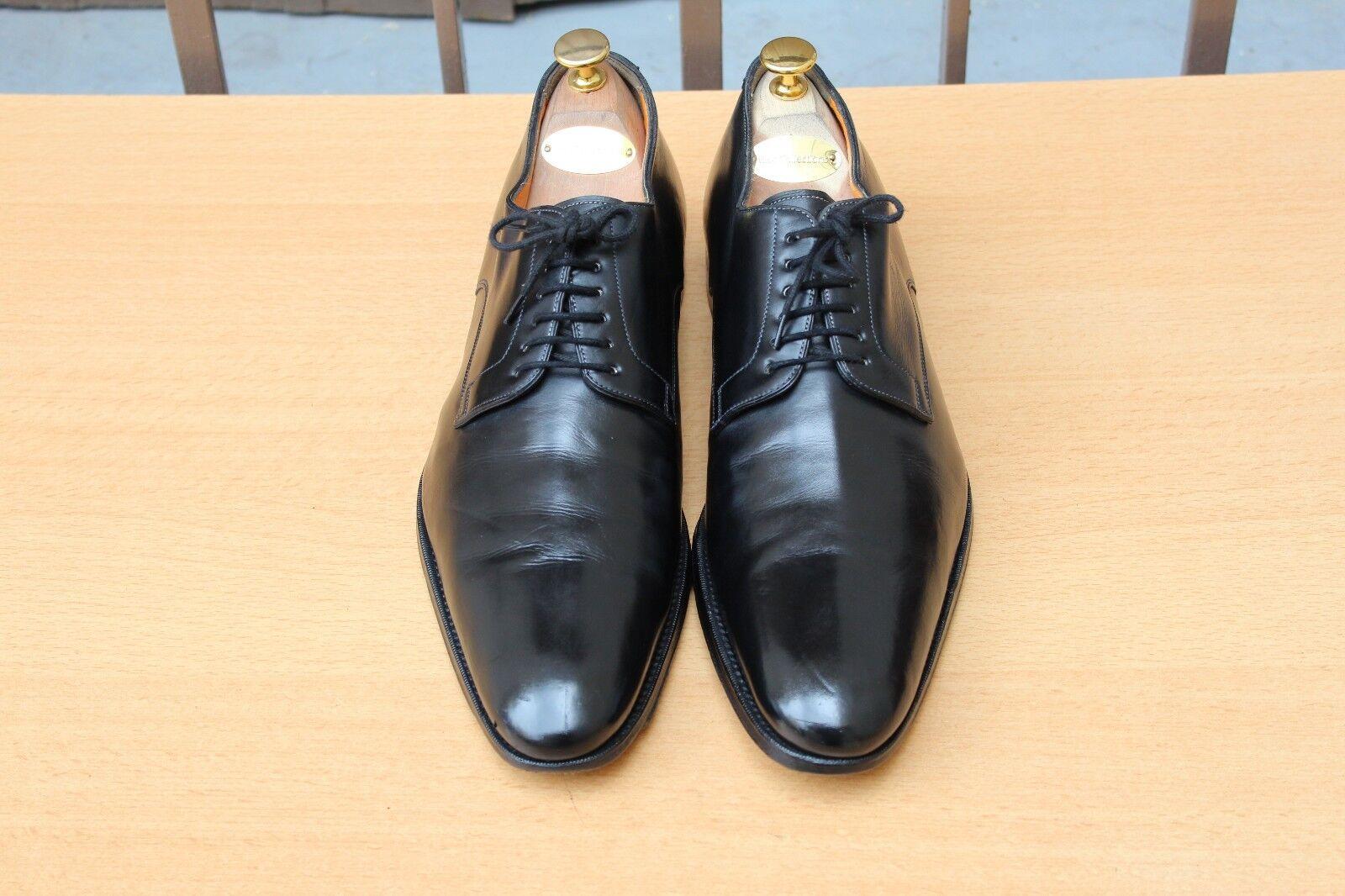 zapatos DERBY SANTONI A LACETS 9 IT 43  EXCELLENT ETAT MENS'S zapatos