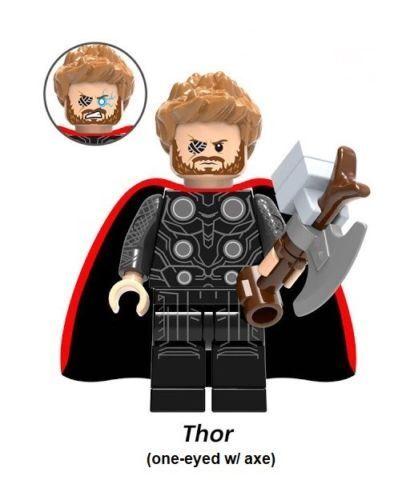 2018 UK HOT Avengers Infinity War Thanos Iron Man Building Blocks Action Figures
