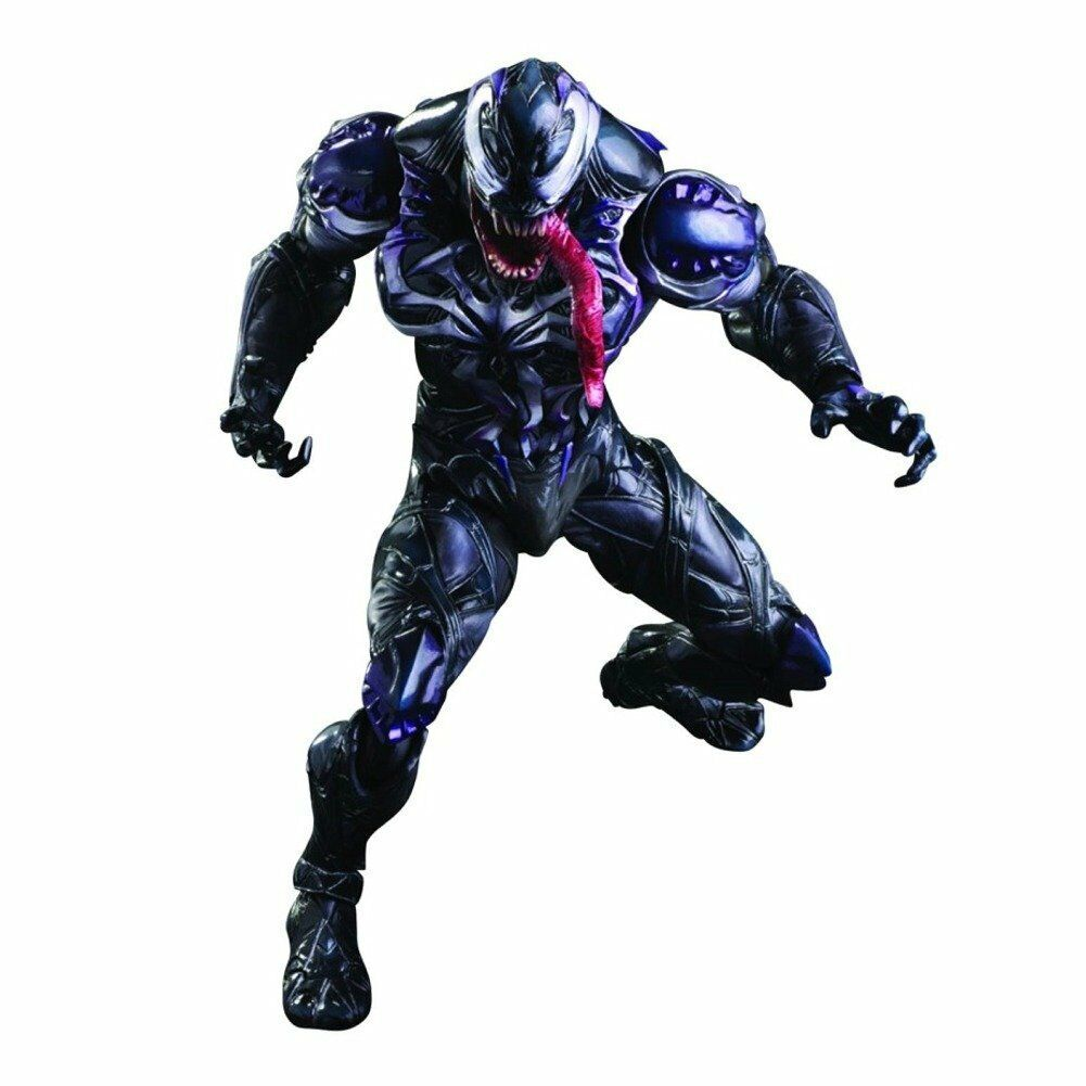 Officially Licensed Marvel Venom Anime Variant Play Arts Kai Action Figure