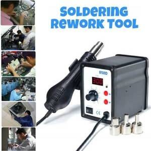 220V-SMD-858D-Soldering-Repair-Desoldering-Station-Hot-Air-Rework-Tool-3-Nozzles