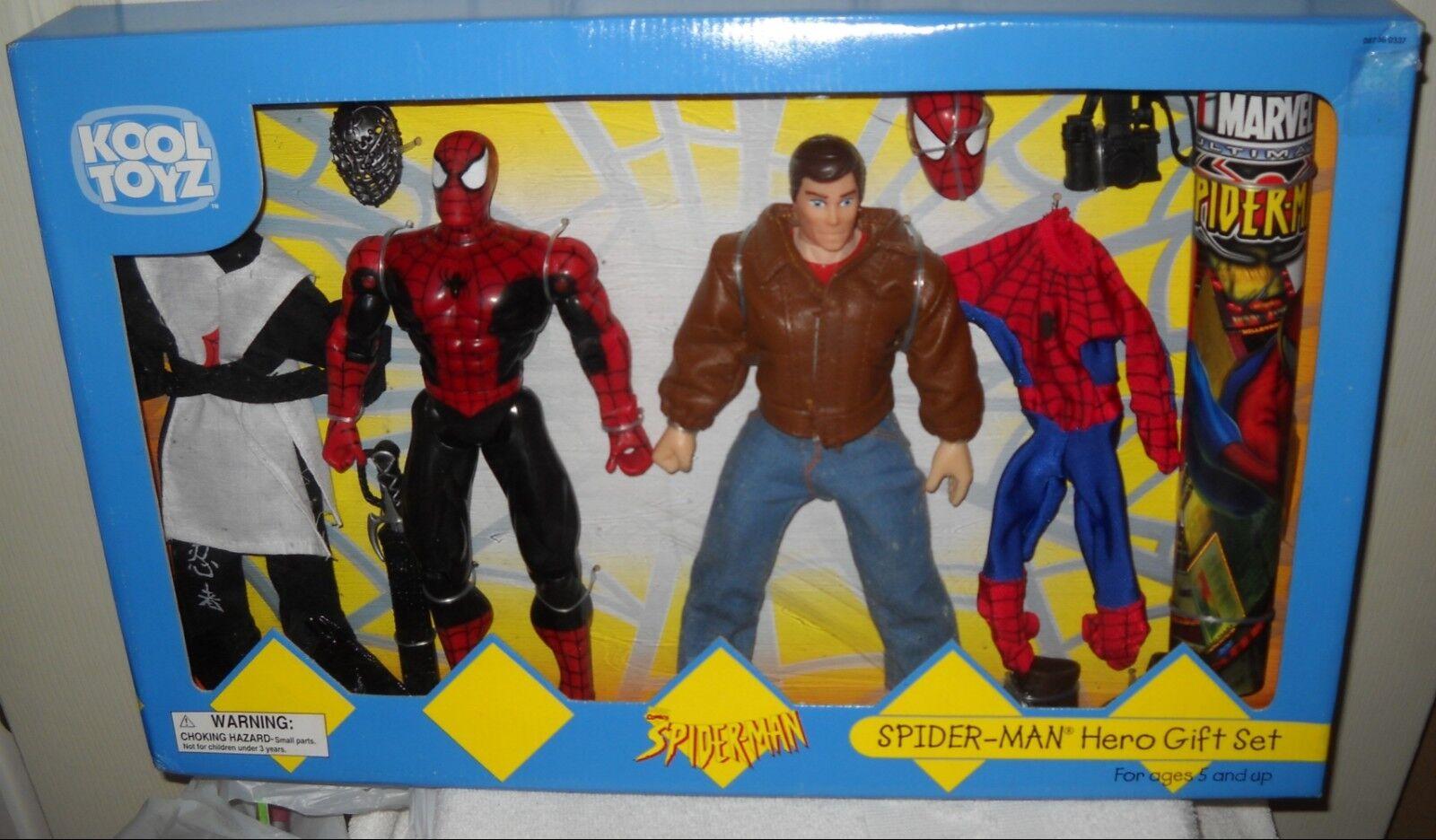 9980 RARE NRFB Toy Biz Kool Toyz Target Stores 2001 Spider-man Hero Giftset