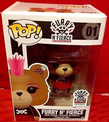 Furry N /'Fierce 01 HOT TOPIC//Build A Bear Vinyl Figure POP