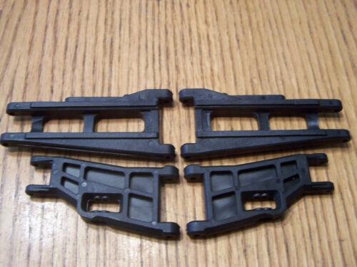 3707 Traxxas 37076 RUSTLER VXL A-Arms A-arm Front /& Rear Suspension 3655X 3631