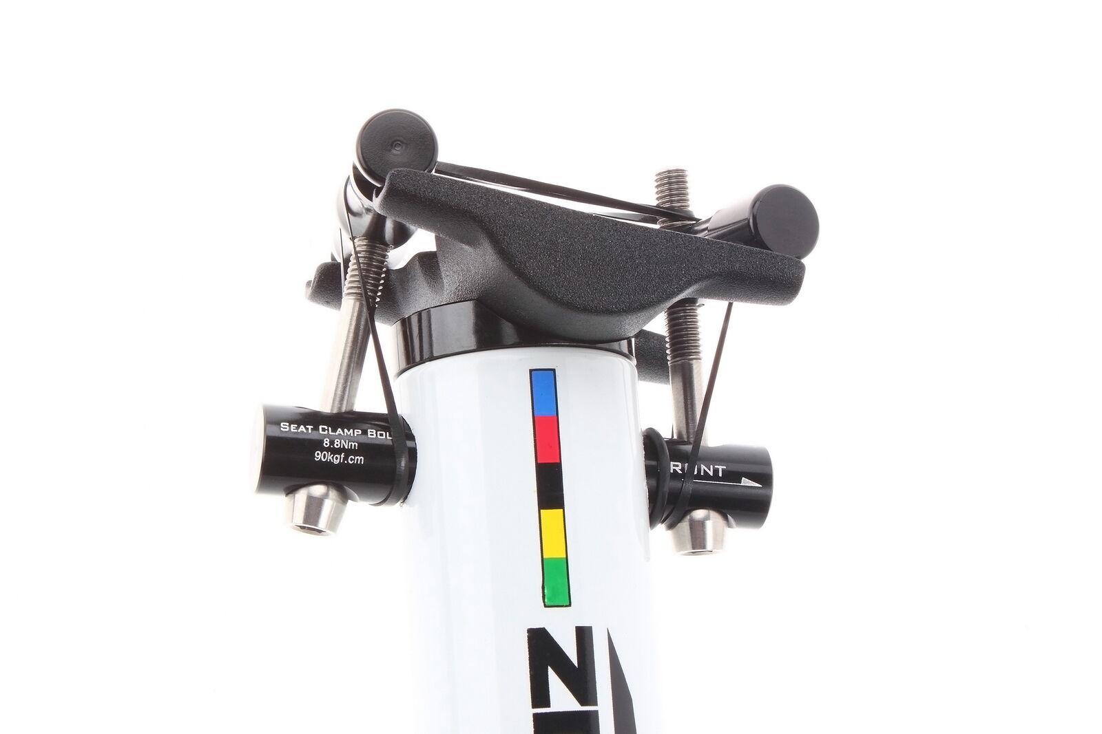 Aerozine XP-Zero Tige de selle Vélo Route CX VTT Bicyclette 31.6mm 400mm whitehe