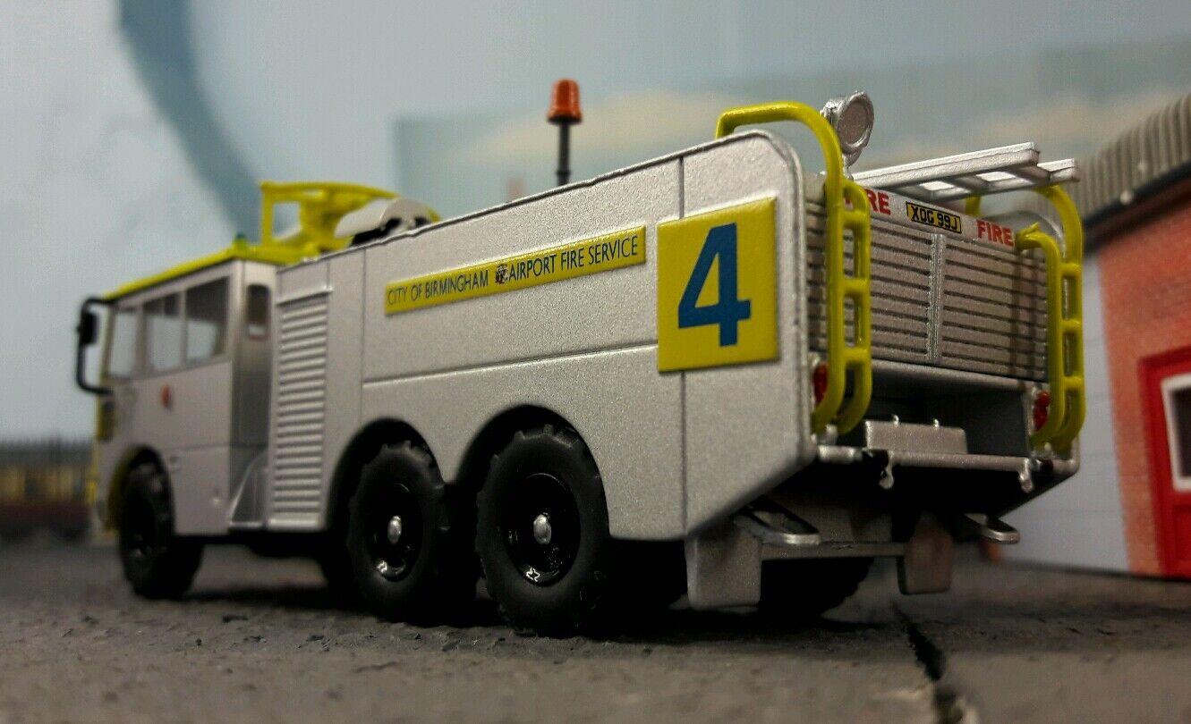 Aeropuerto aeropuerto Crash Rescate Rescate Rescate Bomberos Modelo Thornycroft Nubian 1:76 HO/OO/00 fb80d7