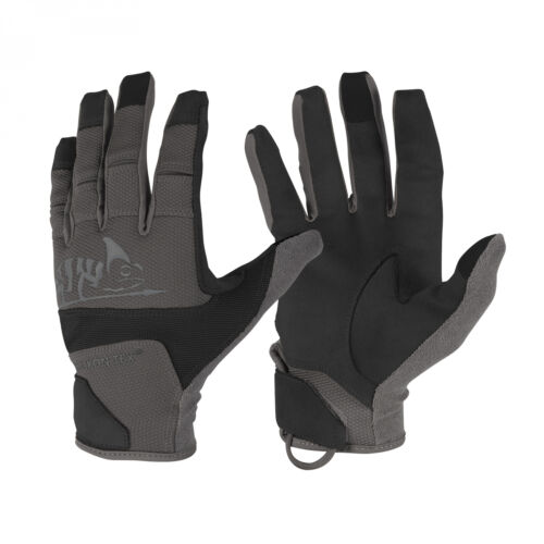 Helikon-Tex Range Tactical Gloves Handschuhe Hard Shadow Grey A Black