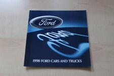 89007) Ford Taurus Escort Contour Mustang - USA - Prospekt 1998