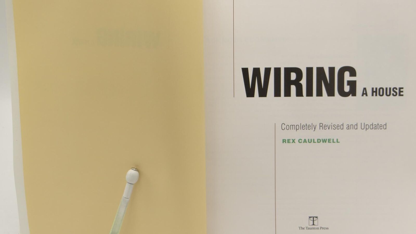 Amazing For Pros By Pros Wiring A House By Rex Cauldwell 2002 Paperback Wiring Cloud Hisonuggs Outletorg