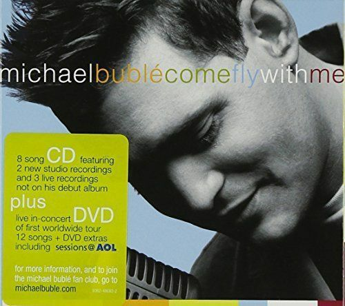 MICHAEL BUBLE Come Fly With Me CD/DVD BRAND NEW Digipak