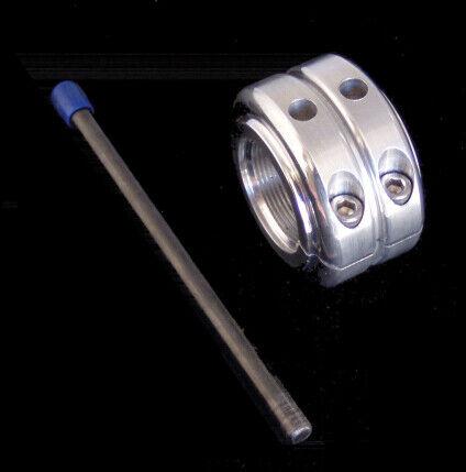 ModQuad Double Locking Axle Nut Aluminum for Yamaha Banshee Polished AX-1