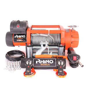 Image Is Loading Truck Recovery Electric Winch 24v 17500lb 4x4 Steel