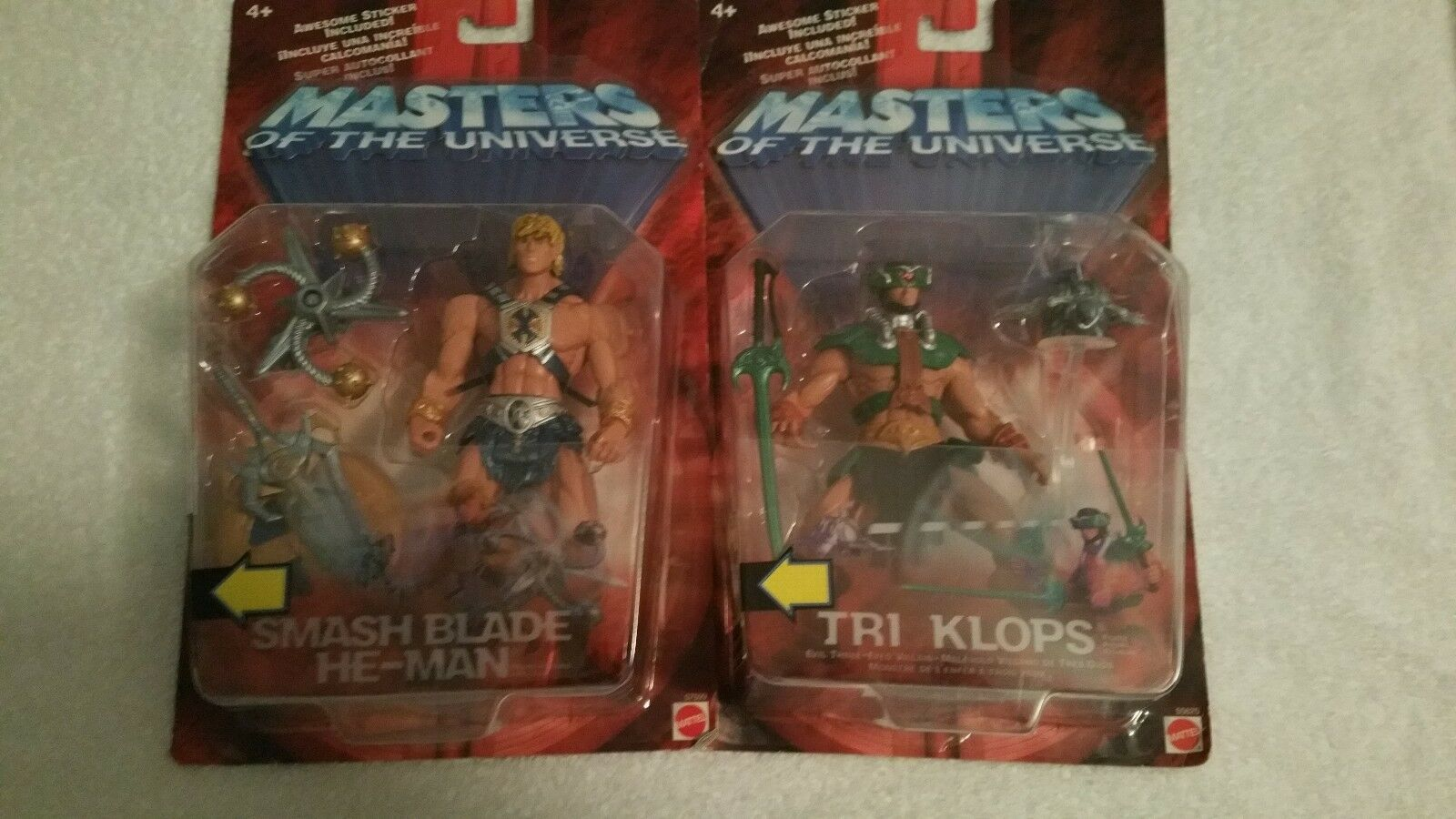 MOTU, HE-MAN & TRI HLOPS, Masters of the Universe, Universe, Universe, NEW, sealed, He Man bb1d22