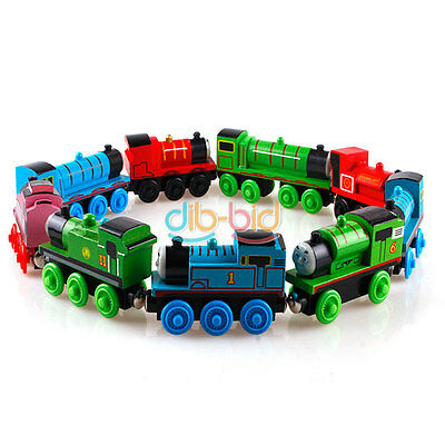 Cute Gift Handcrafted Child Toys Engine Train Thomas Friends Tank Carriages OCUK