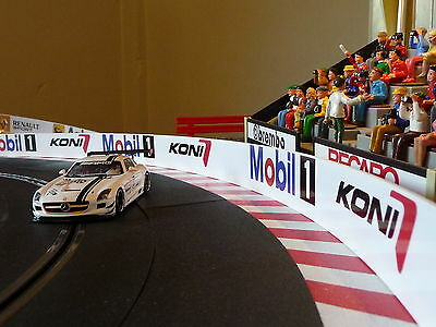 Slotcar LEITPLANKEN BANDE 6cm x 200cm für Carrera DIGITAL 85901