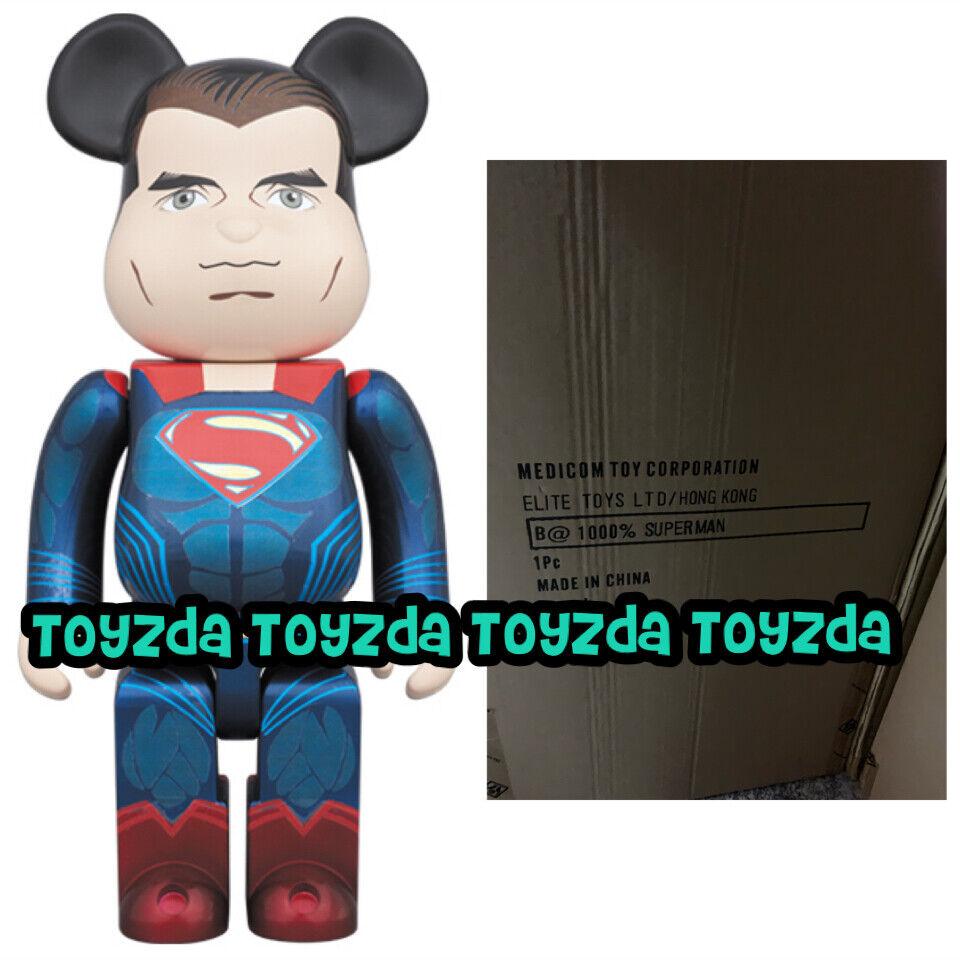 Medicom 2016 DC Dawn of Justice 1000% Batman vs Superman Bearbrick Be@rbrick
