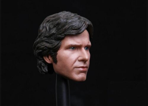 1//6 Scale Custom Han Solo Harrison Ford Head Sculpt For Hot Toys Phicen ❶USA❶