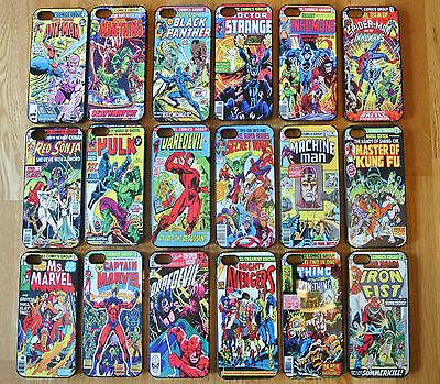 Marvel DC Rare Characters Comics Phone Case/Cover For iPhone SE 7 7+ Batman