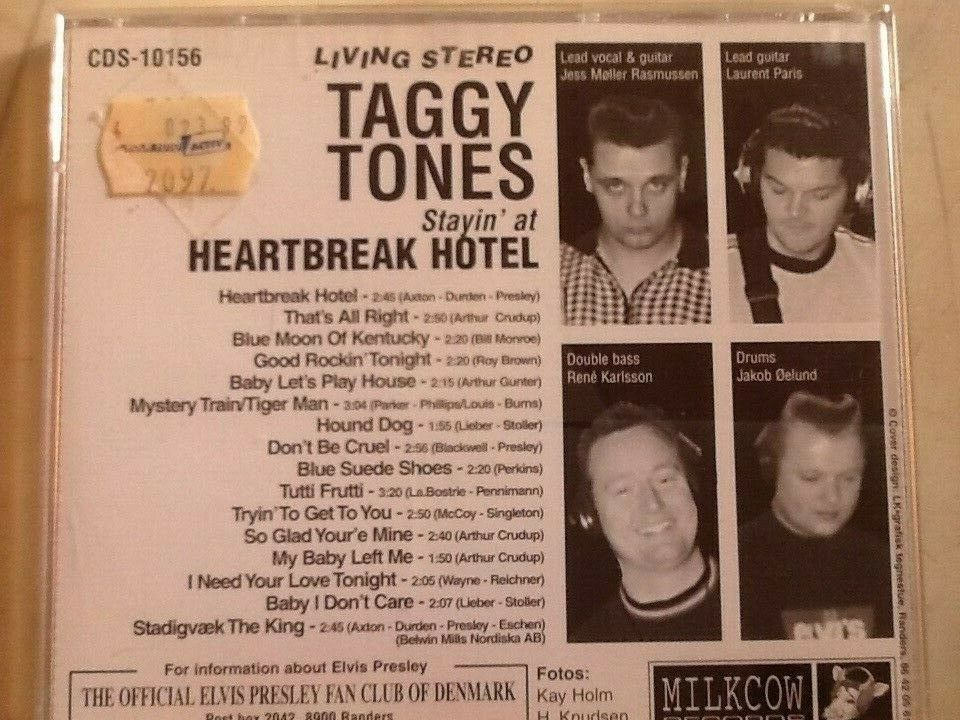 Taggy Tones.: Heartbreak hotel., rock