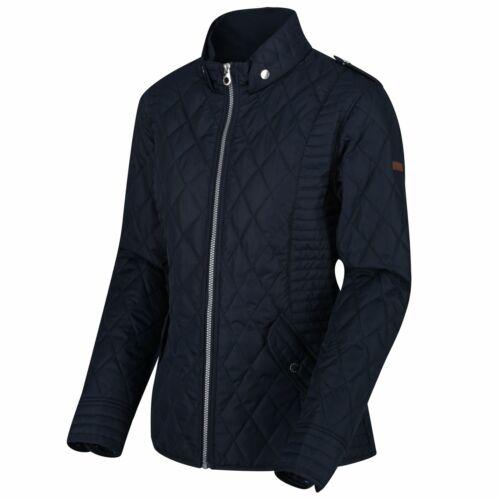 Regatta Womens Carita Quilted Jacket Full Zip Up WarmCoat