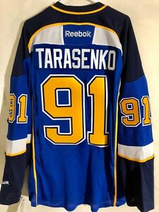 best website 1d955 05e70 Details about Reebok Premier NHL Jersey St. Louis Blues Vladimir Tarasenko  Yelo LNS Blue sz 2X