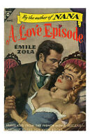 Pin Up Girl Poster 11x17 Pulp Fiction Book Novel Cover Art A Love Episode