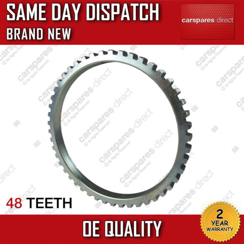 RIGHT FORD TRANSIT 00/>06 48 TEETH DRIVESHAFT CV ABS RELUCTOR RING FRONT LEFT