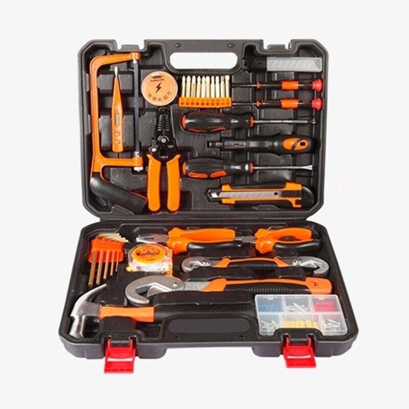 40 pcs Hand Tool Set Household Tools Kit Plier Screwdriver Bits Hex