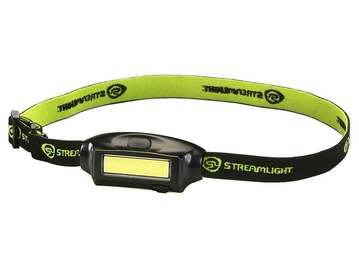 Streamlight Bandit 180 lm DEL Rechargeable Headlamp wvisor Clip 61702