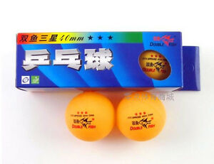 5-Boxes-15-Pcs-3-40MM-Olympic-Table-Tennis-orange-Pisces-brand-china-2-8g-new