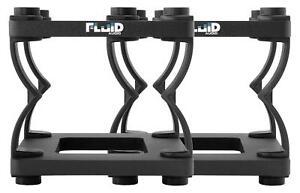 Fluid-Audio-DS5-Tischstativ-2-Stueck-Studiomonitor-Hoehenverstellbar-Entkoppelung