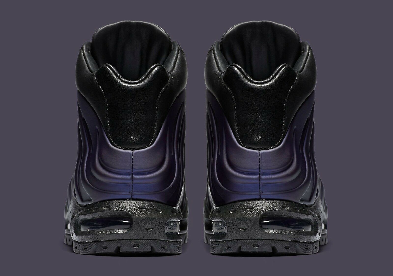 Nike air max foamdome foamposite melanzane 9 843749 500 uomini sz 9 melanzane stivali 2c81d9