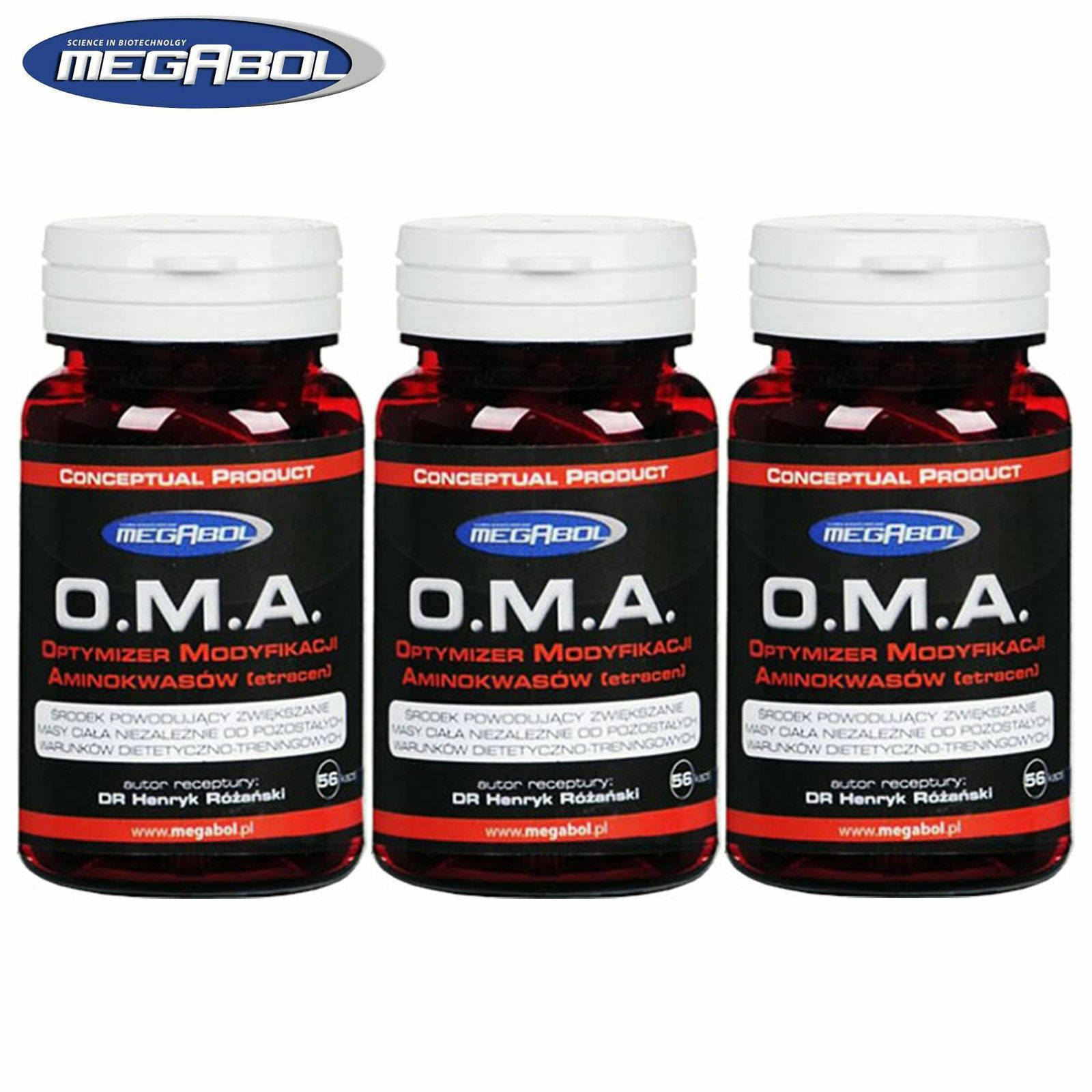 O.M.A. Etracen 56-336 Capsules Muscle Mass Weight Gain Anabolism Enhancer Pills