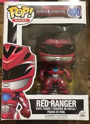 Red Ranger #400 Vinyl Action Figure Power Rangers Funko POP Movies