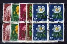 SUISSE SWITZERLAND Yvert  n° 616/620 oblitéré - Bloc de 4