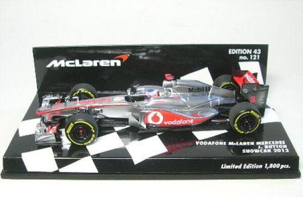 Mclaren Mercedes No. 3 J.Button Formula 1 Showcar 2012