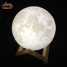 3D Magical Moon Lamp USB Moon Night Light Moonlight Valentines Gift Touch Sensor