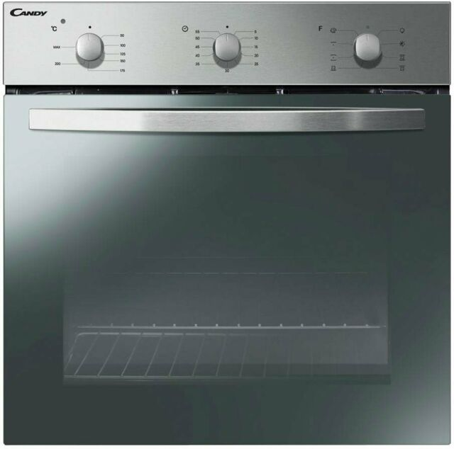 Forno Incasso Ventilato Elettrico Multifunzione 65L Classe A 60 cm Candy FCS602X