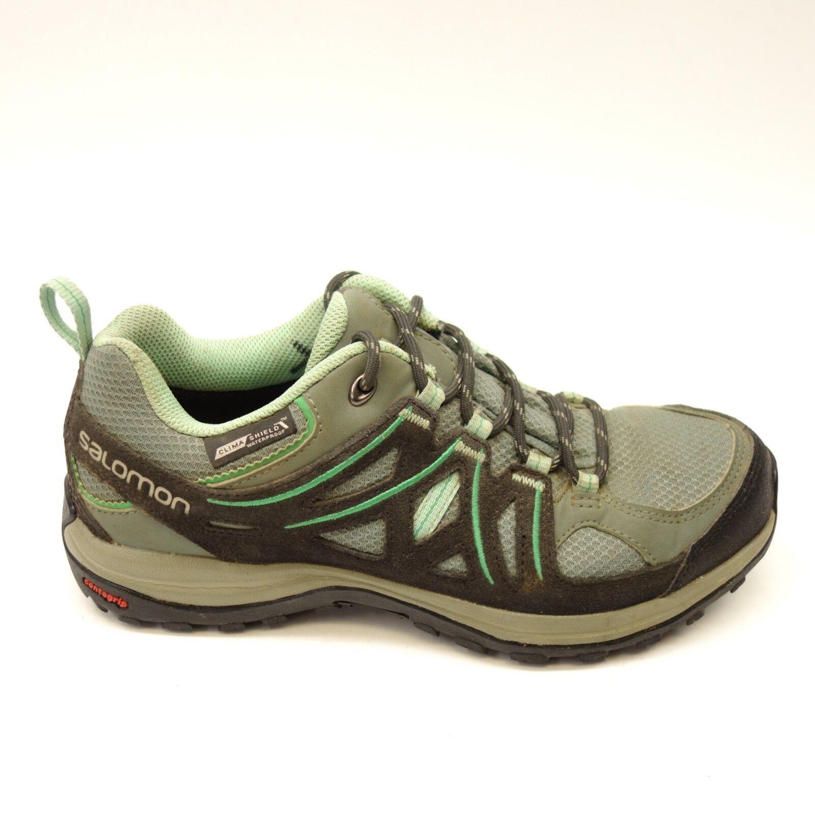 Salomon Womens Ellipse 2 CS WP Terrain Athletic Hiking Trail shoes Size US 6