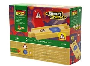 Brio Smart Warning Wooden Train Track 33764 New