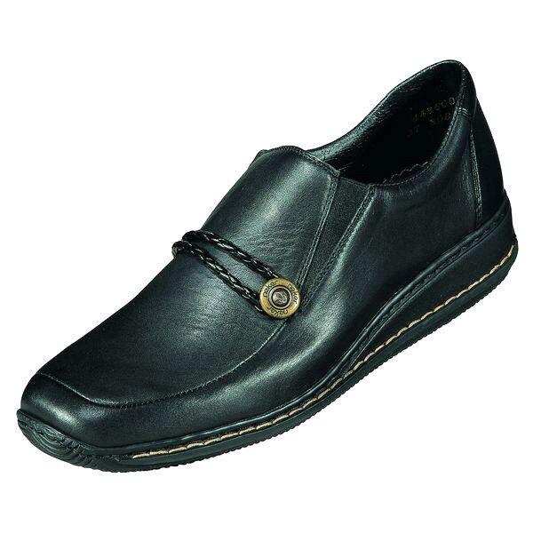 Rieker Schuhe Damen Schuhe Slipper, Leder, Art. 44360, Gr. 41-42 +++NEU+++