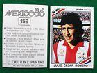 MEXICO 86 n 159 PARAGUAY ROMERO , Figurina Sticker Calciatori Panini 1986 NEW