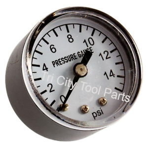 21 1115 3740 0049 00 Heater Air Pressure Gauge Dyna Glo