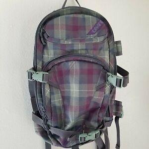 Dakine Backpack Bag, Plaid, Heli Pro, Ski/Snowboard/Hiking, Outdoor Sports
